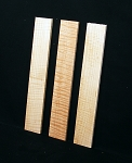 Curly Flame Maple Fingerboard Blank Ukulele/Mandolin