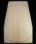 Adirondack Red Spruce Soundboard - Dreadnought / OM
