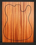 Mahogany Drop Top - Quartersawn